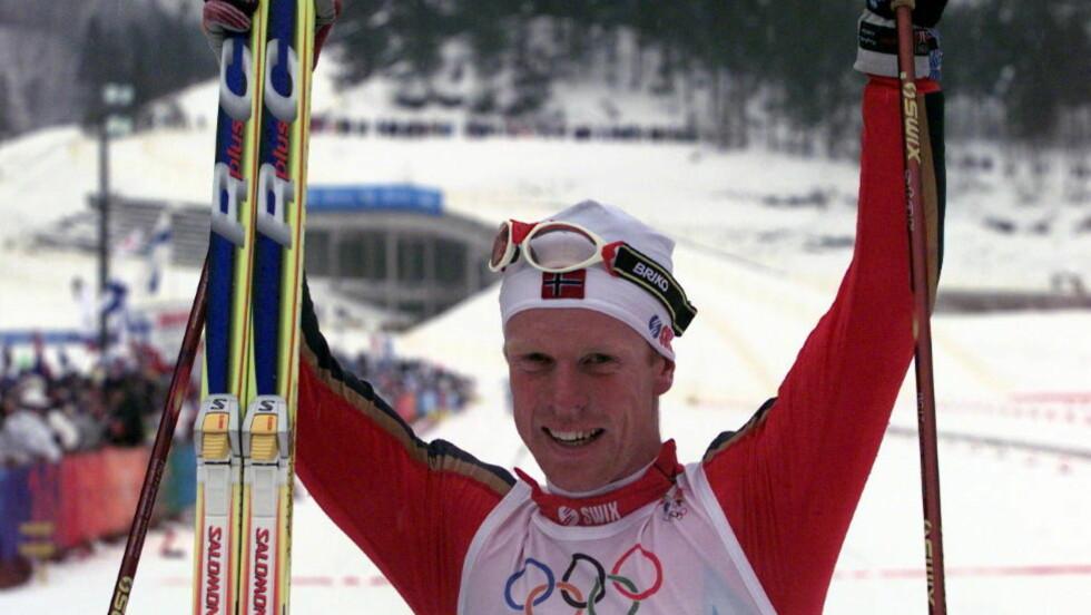 KLAR VINNER: Bjørn Dæhlie toppet de fleste listene da folket ble spurt om tidenes nordmann på ski. Foto: Dagbladet