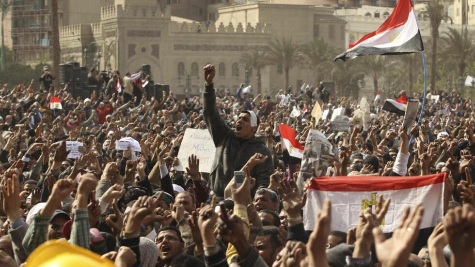 FANGET PÅ HOTELLET: Helt siden 25. januar har kronikkforfatteren ufrivillig blitt sittende fast på et av de store hotellene i Kairo på grunn av opptøyene i Egypt. Han er knust over konfliktene som utspiller seg, støtter presidenten i landet og fordømmer demonstrantene og Det muslimske brorskapet. Foto: Reuters/Scanpix