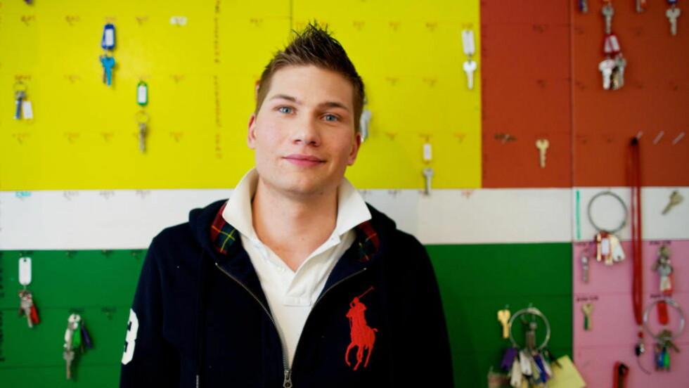 - «Kick-start»: Niklas Johansson (23), en av eierne i Svenska Föreningen, sier at de tilbyr en «kick-start» i Oslo for svenske ungdommer som ønsker å jobbe. Foto: Eirik Helland Urke / Dagbladet