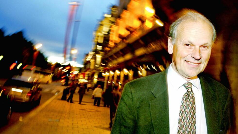 SIER NEI: Michael Tetzschner er en av Høyre-representantene som sier nei til datalagringsdirektivet. Foto: Jeanette Landfald/Dagbladet