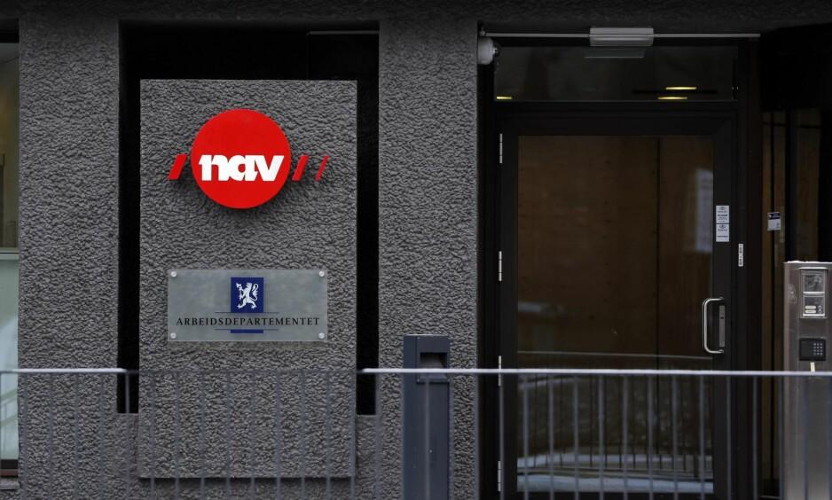 Stenges ute: Flere av Navs brukere blir utestengt fra sitt lokale kontor i inntil tre måneder, som et av NAVs sikkerhetstiltak, skriver artikkelforfatteren. Foto: Lise Åserud / NTB scanpix