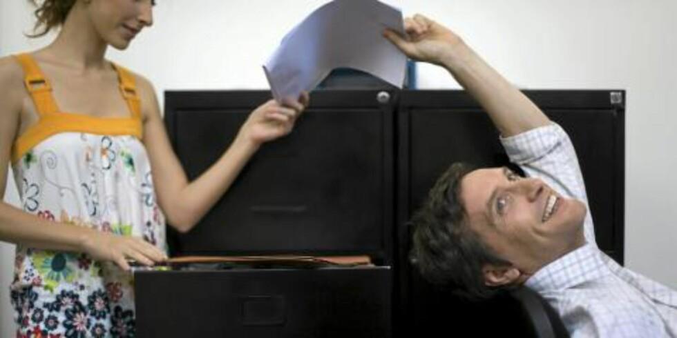 STØTTE: Gode og støttende kolleger gjør at man takler større utfordringer.  Illustrasjonsfoto: Colourbox.com
