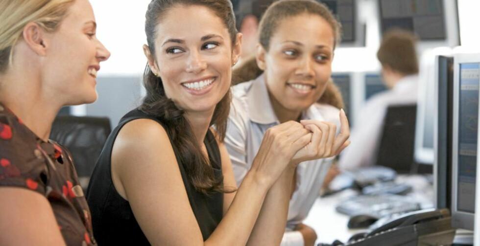 BEVISSTHET: Arbeidsmiljøet er først og fremst leders ansvar. Men alle arbeidstakere må bli mer bevisst sitt ansvar og sine muligheter til å påvirke arbeidsmiljøet positivt. Illustrasjonsfoto: Colourbox.com