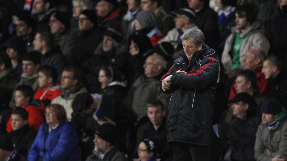 NY JOBB: Roy Hodgson skal redde West Bromwich fra nedrykk. Foto:  REUTERS/Phil Noble
