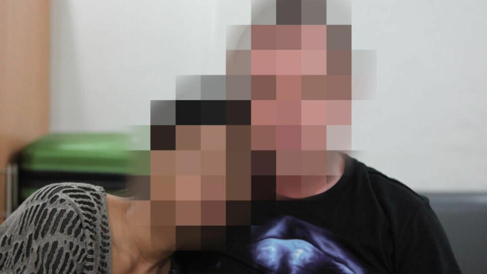 - VIL SAMARBEIDE: Nordmannen (49) og hans fillippinske kjæreste (24) sier de håper å bli raskt sjekket ut av saken, slik at politiet kan få tatt de som faktisk står bak, forteller paret. Foto: Dagbladet