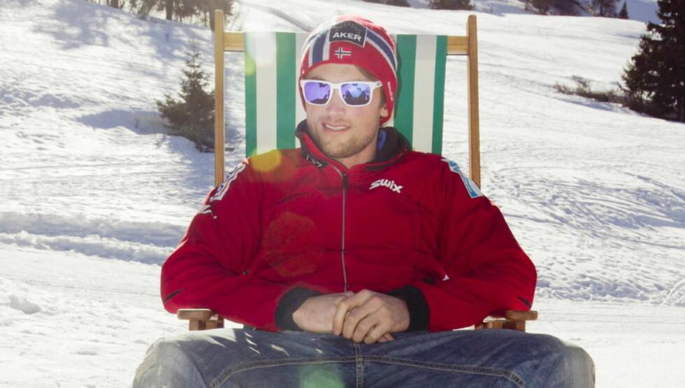 SNYLTER? Langrennsløperen Petter Northug er symbolet på snylternasjonen Norge er i ferd med å utvikle seg til, mener Aslak Sira Myhre. Foto: Heiko Junge / Scanpix