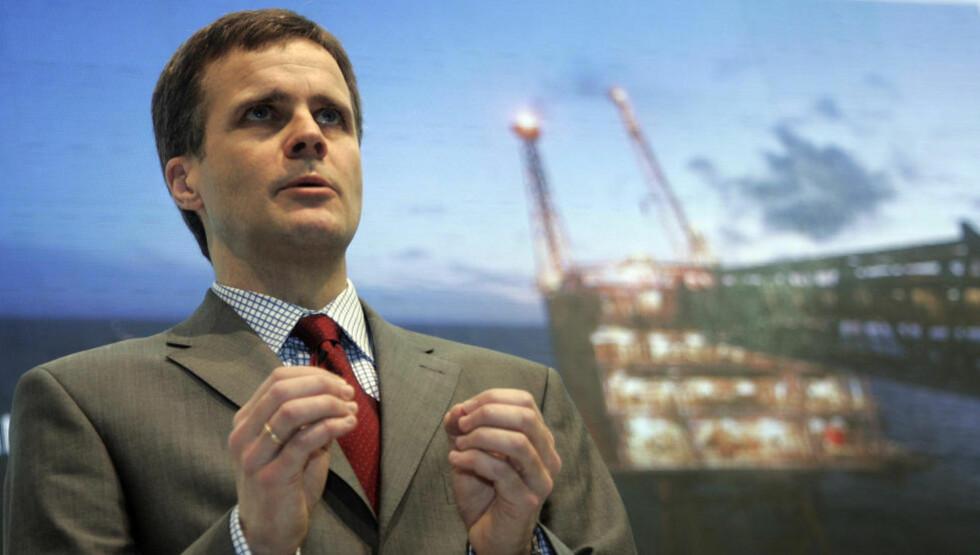 STATOIL: Statoilsjef Helge Lund ser eksport av norsk gass til resten av Europa som lukrativ forretning i årene som kommer. Foto: Luke MacGregor/REUTERS