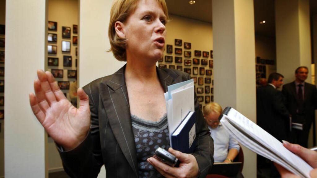 REAGERER:  Marianne Aasen reagerer på Frps utspill. Foto: Erlend Aas  / SCANPIX