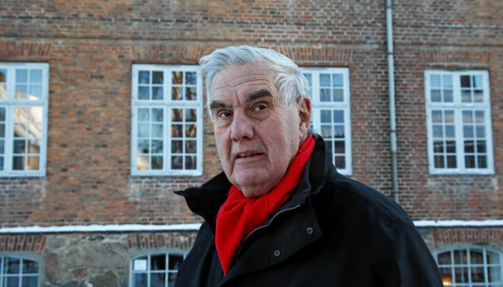 PRINSIPPFAST: Personvern og rettssikkerhet var bærende verdier for Georg Apenes, og kjernen i hans livsgjerning.