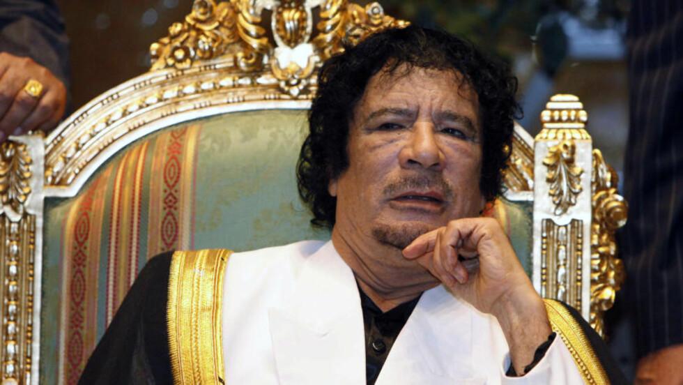 DREPER SINE EGNE: Muammar Kadhafi kjemper desperat for å beholde makta i Libya. Foto: Reuters/Ismail Zitouny/Scanpix