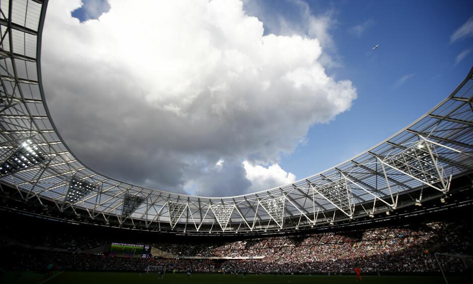 NYTT STADION: Toppklubben West Ham United har flyttet fra Boleyn Ground til Olympic Park. Foto: Peter Nicholls / Action Images / NTB scanpix