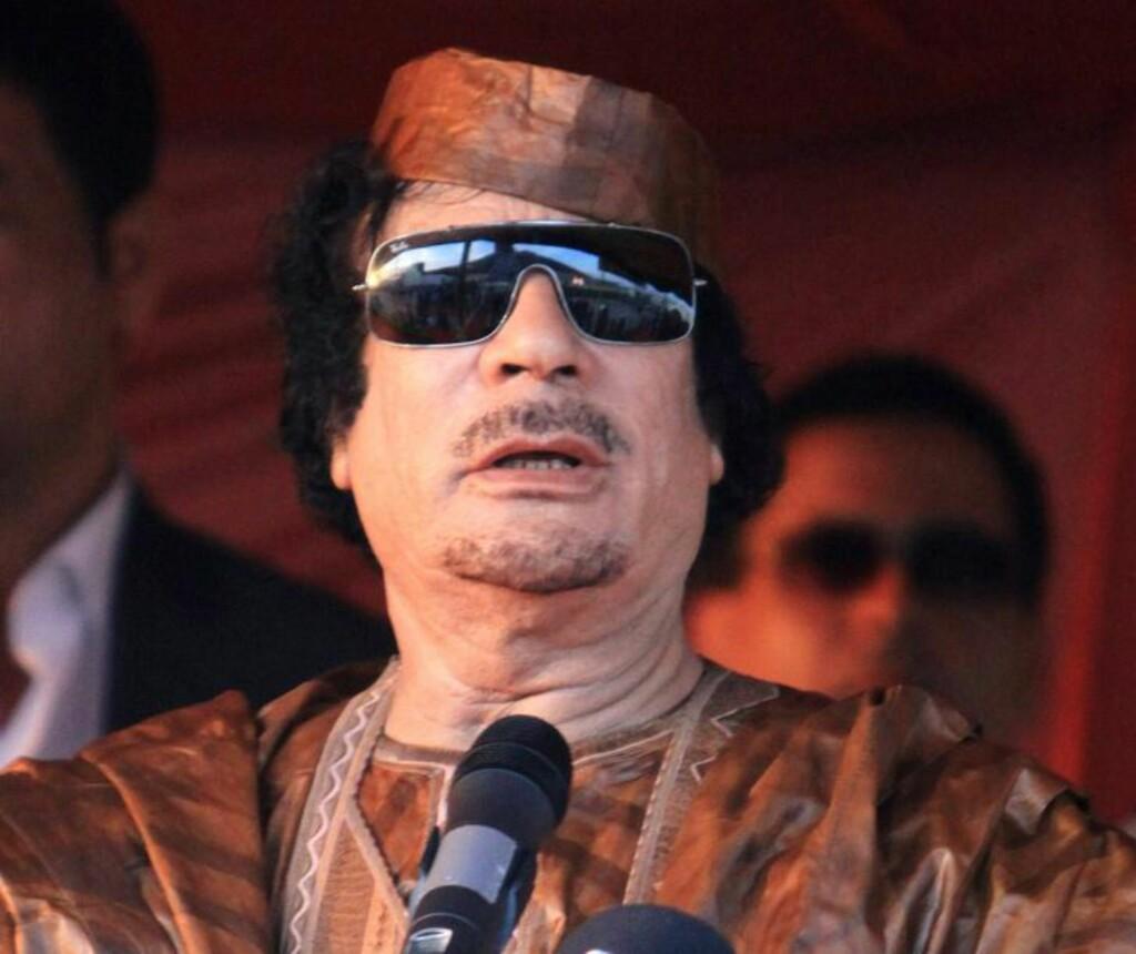 ANSPENT: Trykket øker for Libyas diktator Muammar Kadhafi. Foto: EPA/Sabri Elmhedwi/Scanpix