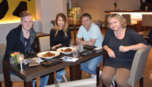TESTPANELET: Vi fikk hjelp av familien Zyngid på Fristelse til å vurdere de veganske alternativene.
