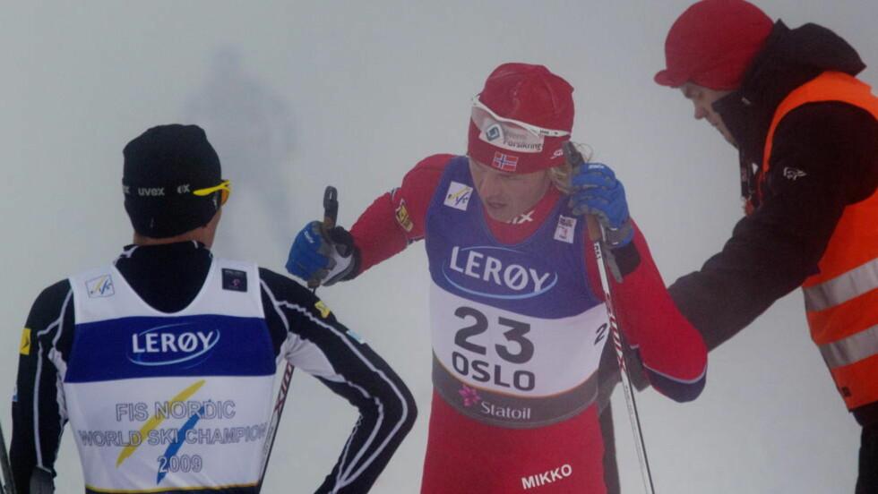 VIL GÅ UT SIST: Mikko Kokslien håper han overtar ankerrollen fra Magnus Moan, og har lyst til å rykke 500 meter før mål.  Foto: Kyrre Lien / Scanpix