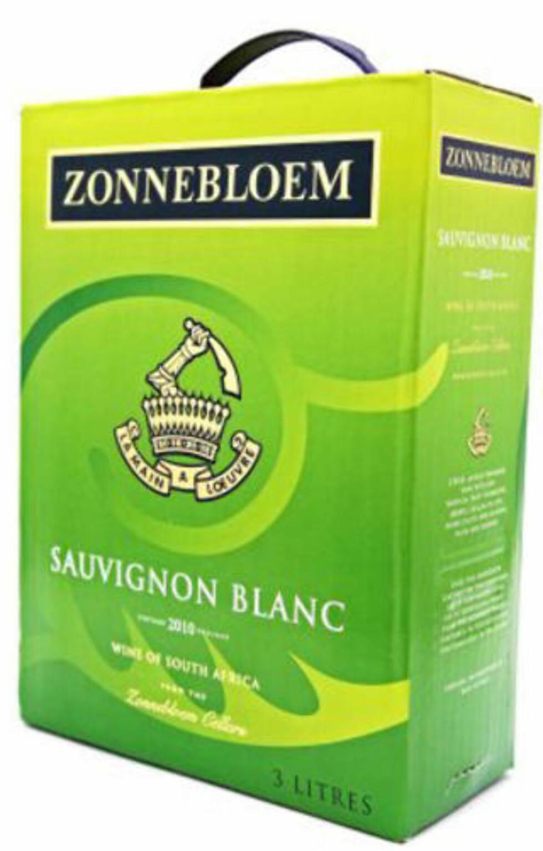 FRUKTIG OG FYLDIG: Zonnebloem Sauvignon Blanc 2010 fra Western Cape i Sør-Afrika.