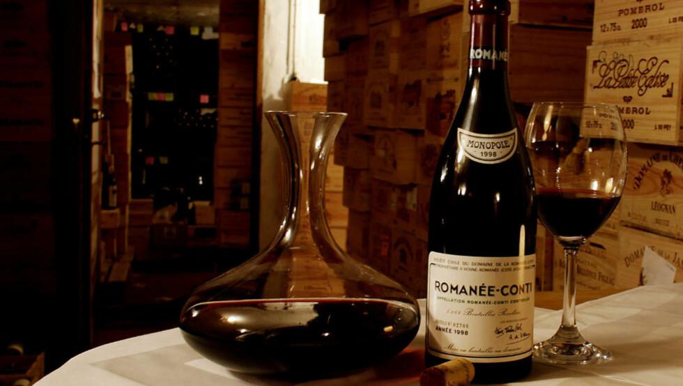 STOR VIN: Romanée-Conti er trolig den største vinen fra  Côte d'Or, eller gullåsen. Foto: OLE C.H. THOMASSEN
