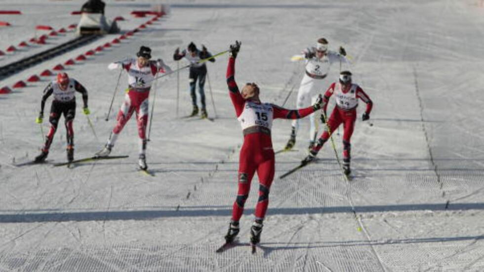 BRONSE: Tord Asle Gjerdalen gikk inn til bronse. Foto: GORM KALLESTAD/SCANPIX