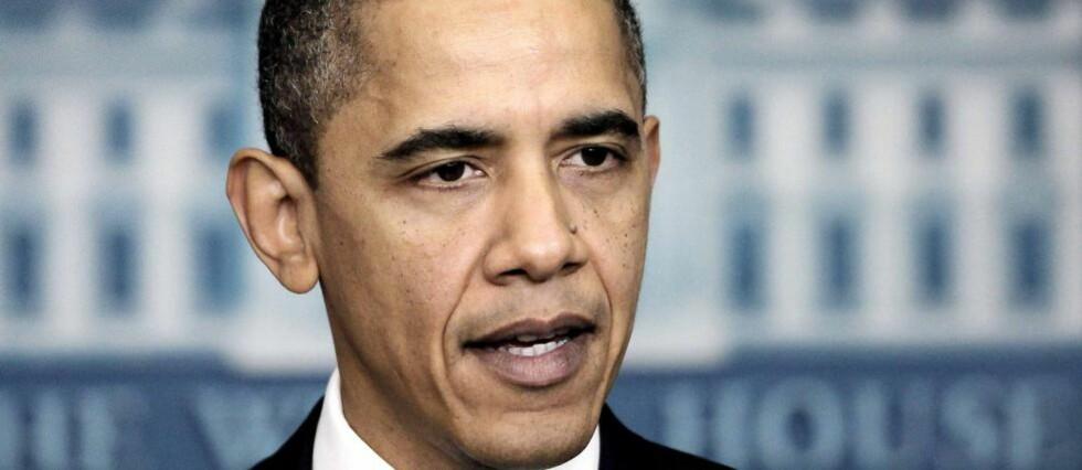HELOMVENDING: President Barack Obama har ikke fått gjennomslag for å stenge fengselet i Guantanamo-basen på Cuba, og vil nå tillate nye millitærrettsaker. Foto: Pablo Martinez Monsivais/AP