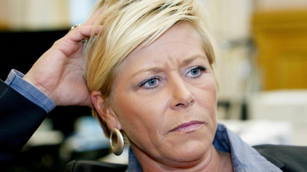 VENTET FOR LENGE: Frp-leder Siv Jensen mener FN ventet for lenge. Foto: Terje Bendiksby / Scanpix