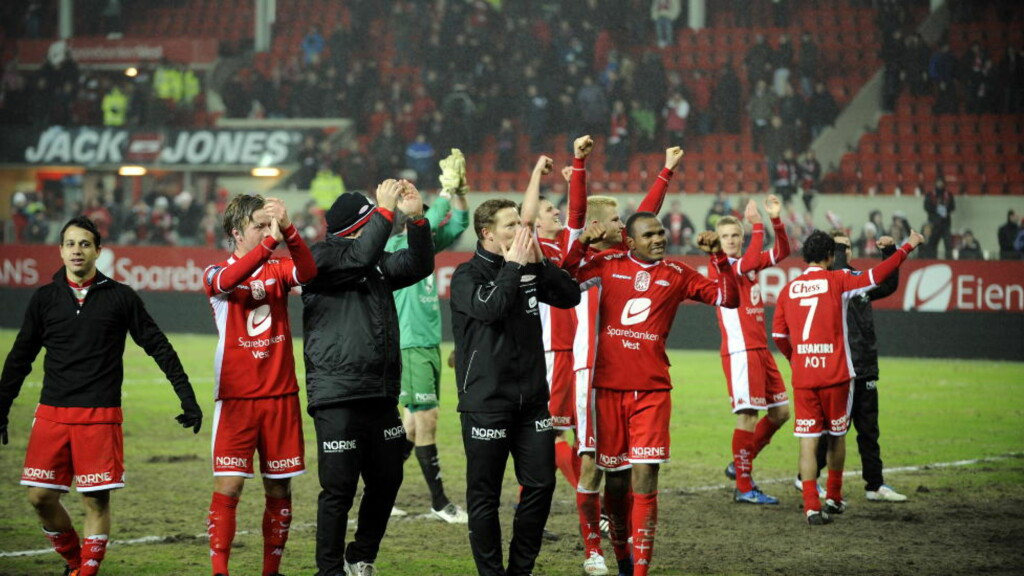 FLOTT INNSATS:  Med topp innsats og mye mot vant selv Brann over Rosenborg. FOTO: Tor Erik H. Mathiesen.