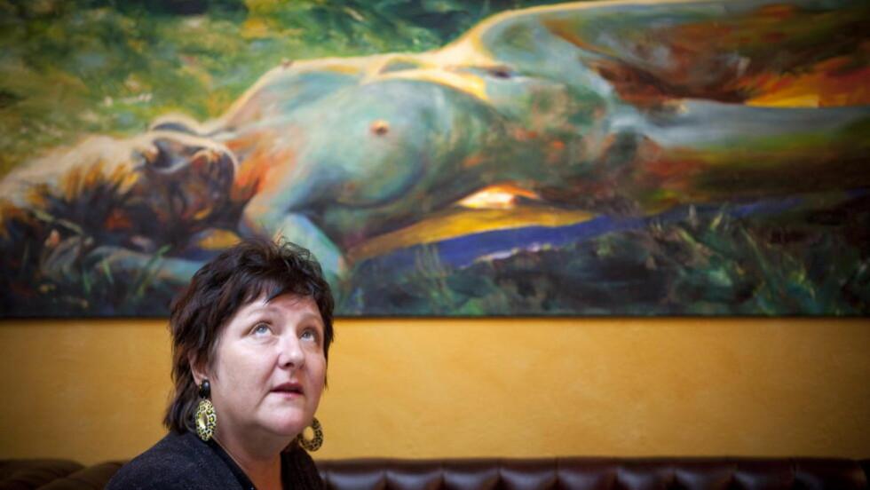 - FORKASTELIG: Anne B. Ragde har selv meldt seg ut av Forfatterforeningen fordi hun misliker at etablerte forfattere blir tildelt stipend. Foto: Ole Morten Melgård / Dagbladet