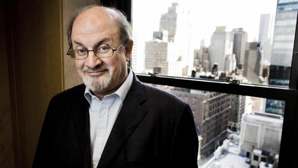 GAVE TIL SØNNEN: «Luka og livets flamme» var Salman Rushdies gave til sønnen Milan på hans 12-årsdag. Boka har blitt en eventyrlig fabel til glede for både små og store lesere. FOTO: SVEINUNG U. YSTAD, Dagbladet