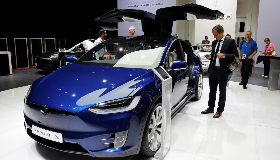 KLIMA: Elbilene er noen skikkelige miljøsvin, skriver artikkelforfatteren. REUTERS/Benoit Tessier