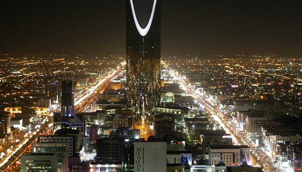 RIKT LAND: Saudi-Arabia er et svært rikt land, nedgangstider til tross. Her et bilde av storbyen Riyadh. Foto: SAUDI-TOURISM REUTERS/Ali Jarekji/NTB Scanpix