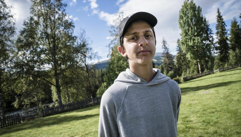 GUTTETUR: Usman Boota har lært seg å stole på Erik «politi-imamen» Andersen. Foto: Øistein Norum Monsen / Dagbladet