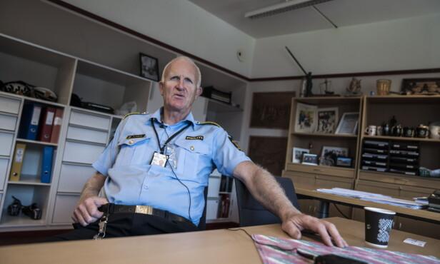 STØTTER DIALOG: Kåre Stølen er stasjonssjef på Grønland politistasjon i Oslo. Foto: Øistein Norum Monsen / Dagbladet