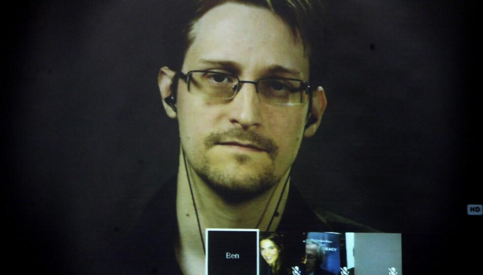 OVERVÅKING: Blir bare mer og mer vanlig. Edward Snowden avslørte amerikansk overvåking. Foto: EPA/PANTELIS SAITAS