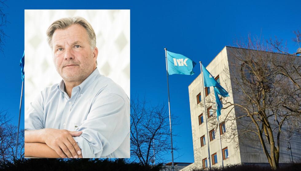 LISENS: Isteden for å ha en NRK-lisens mener Ib Thomsen, mediepolitisk talsperson i Frp, at lisensen bør fordeles på alle TV-kanalene som er allmennkringkastere. Foto: Frp / NTB Scanpix