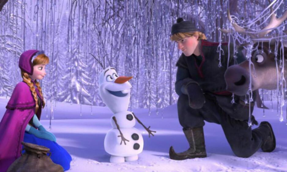 DISNEY I NORGE: Disney hentet mye inspirasjon til suksessfilmen «Frozen», nå har de vært i Finnmark, og samepresidenten er redd storkonsernet glemmer hvem sin kultur de bruker av. Foto: Disney.