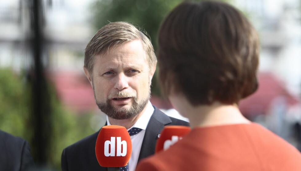 RUS: Helseminiter Bent Høie vil at vi skal lære av Portugal og avkriminalisere rusbruk. Foto: Nina Hansen / Dagbladet