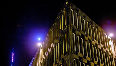 Oslo  20131121. Over 50 nåværende og tidligere ansatte ved den amerikanske ambassaden i Oslo er under mistanke for å ha jobbet svart, opplyser Skatteetaten. Foto: Stian Lysberg Solum / NTB scanpix