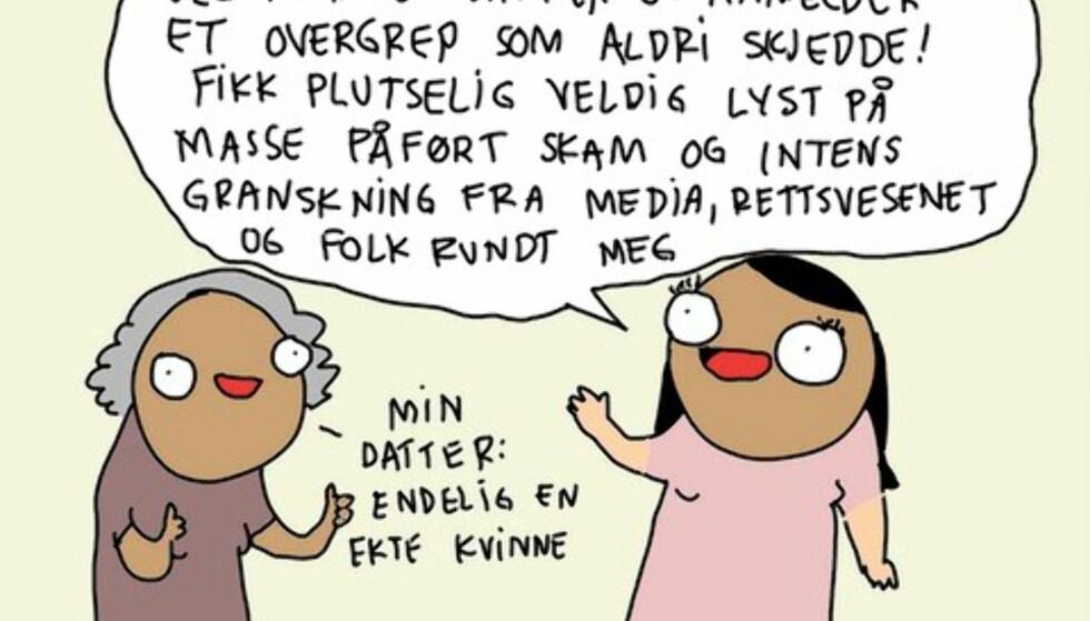 Hanne Sigbjørnsen, tegnehanne.no