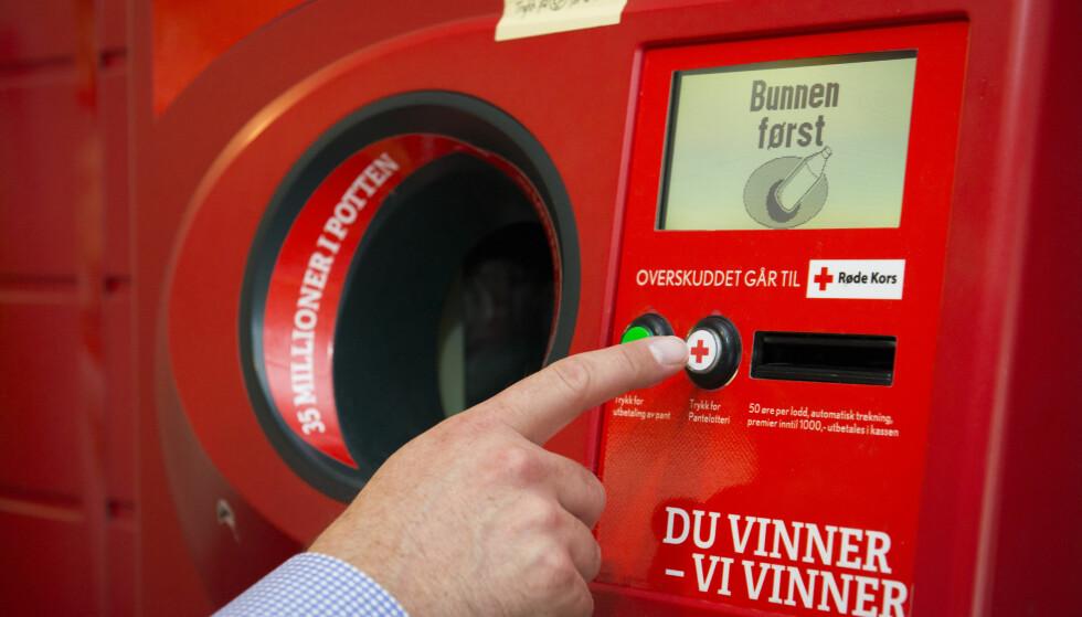 GIKK FRA GEVINSTEN: En person i Skånevik fikk ikke med seg at han eller hun vant en million kroner. Foto: Pantelotteriet