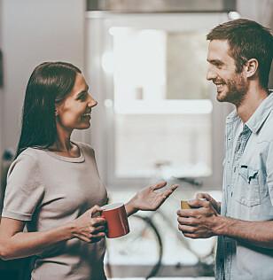VENT ETTER MAT: Det kan være lurt å vente med kaffekoppen minst en time etter et måltid.