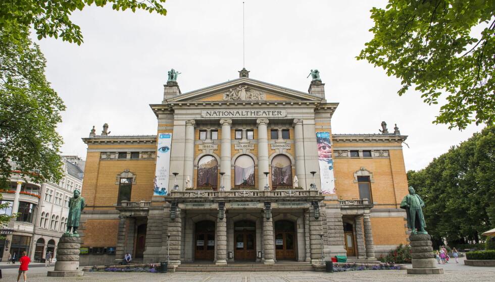 I DÅRLIG STAND: Nationaltheatret forfaller. Foto: Arne V. Hoem / Dagbladet