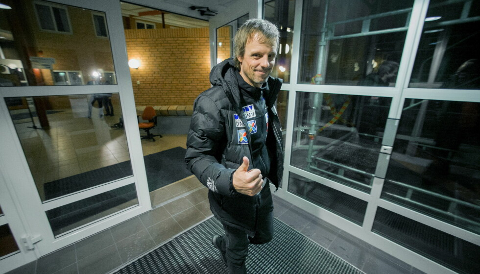VIL SE FORBEDRINGER: Hopptrener Alexander Stöckl. Foto: Bjørn Langsem / Dagbladet