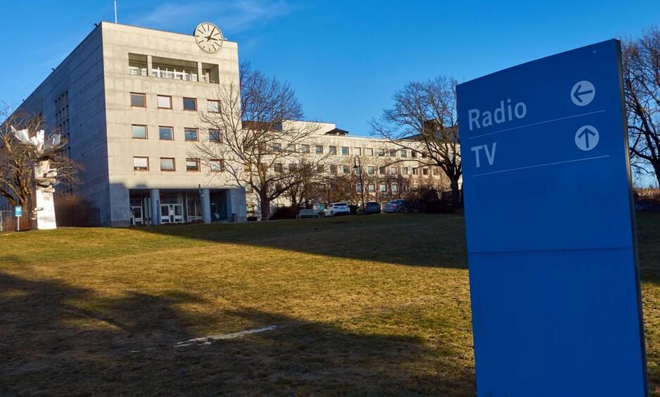 «SUBSIDIERES»: Staten subsidierer NRK på bekostning av de andre aktørene i Medie-Norge, mener artikkelforfatteren. Foto: Stian S.Møller / Gonzales Photo / NTB Scanpix