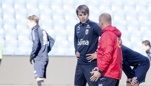 JOKER: Martin Samuelsen er en offensiv joker Per-Mathias Høgmo i VM-kvalifiserniskampene mot Aserbajdsjan og San Marino. Foto: Sveinung U. Ystad, Dagbladet