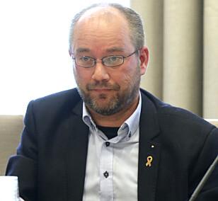 SKEPTISK: Nestleder i Norges Offisersforbund (NOF) Torbjørn Bongo Foto: Vidar Ruud / NTB scanpix