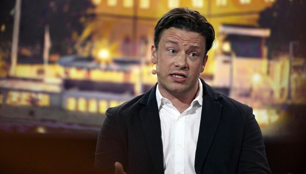 - FORFERDELIG: Tv-kokken Jamie Oliver er svært misfornøyd med statsminister Theresa Mays siste forslag. EAT-konferansen i Stockholm i fjor. Foto: Karin Törnblom / IBL Bildbyrå / NTB Scanpix