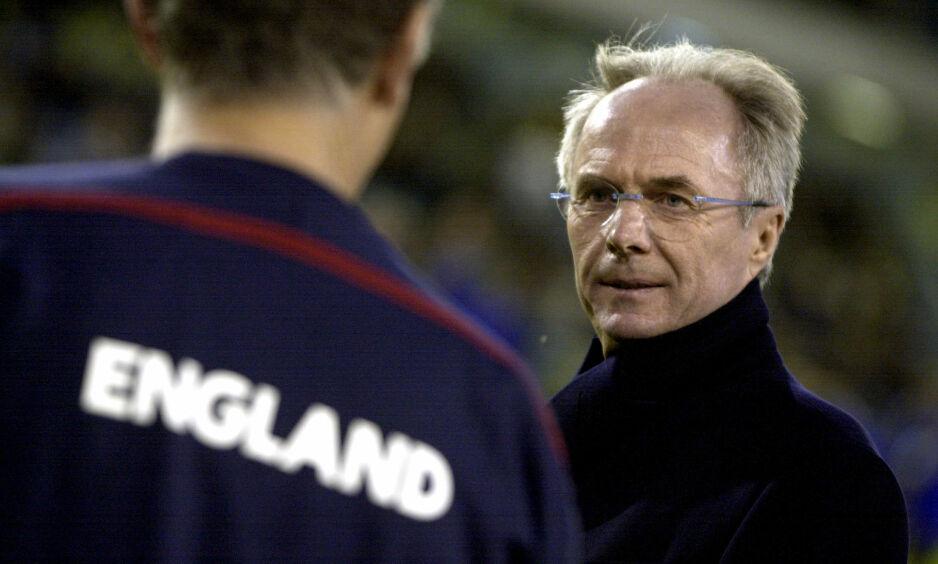 BITTER: Den tidligere England-sjefen er ikke over å ha mistet jobben, takket være en falsk sjeik. Her fra en treningskamp med England mot Sverige i 2004. Foto: Claudio Bresciani / SCANPIX