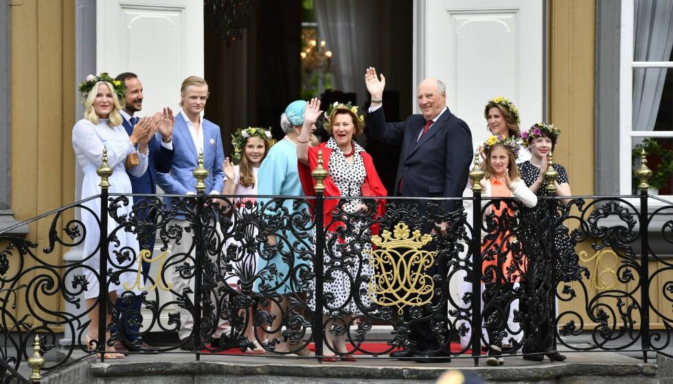 IKKE KONTROLL: Kommunal- og moderniseringsdepartementet har ingen kontrollfunksjon overfor kongehuset, slik det enkelte ganger kan fremstå i Dagbladet, skriver Jan Tore Sanner. Foto: Ole Martin Wold / NTB scanpix