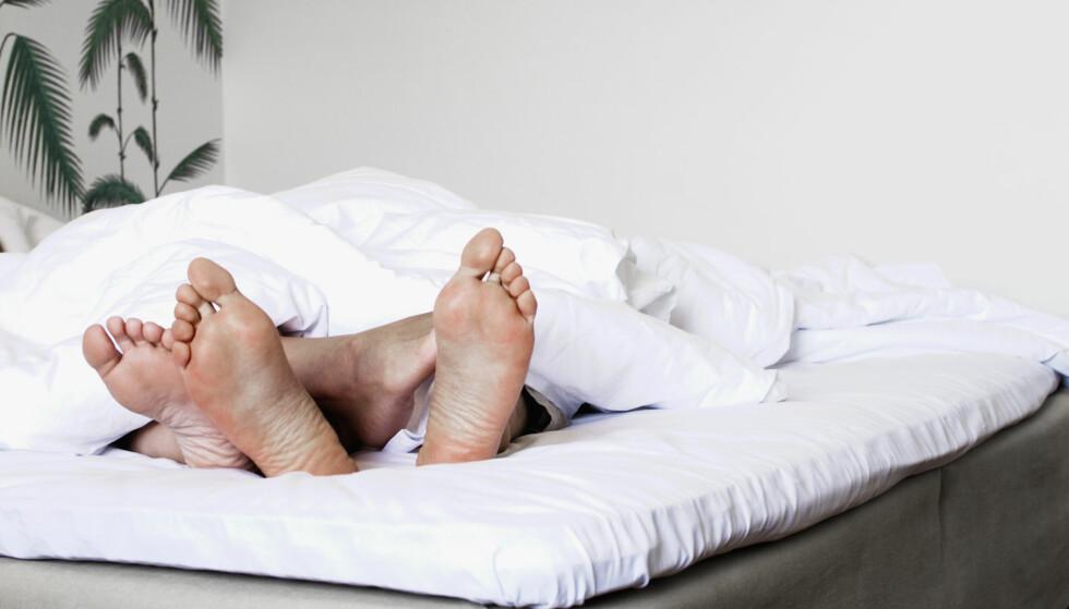 DEN VISUELLE FANTASIEN: . - Tenk å sette på en podcast med lydporno mens du gjør husarbeidet eller sitter på bussen på vei til jobb, sier sexinspirator Cecilie Kjensli. Foto: NTB / Scanpix