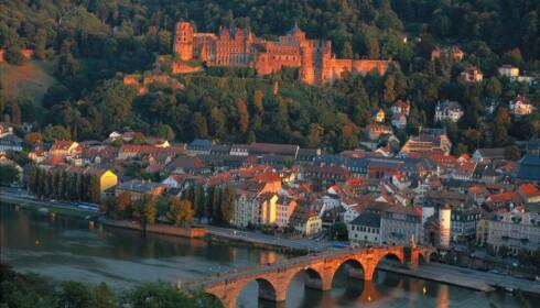 POPULÆRT: Heidelberg, med gamlebyen og det mektige slottet, er blant Tysklands mest populære severdigheter. Foto: Deutsche Zentrale für Tourismus / RainerKiedrowski