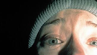 SKREMTE VERDEN: Lavbudsjett-skrekkfilmen «The Blair Witch Project» kom ut i 1999, og ble én av årets største suksesser på kino.