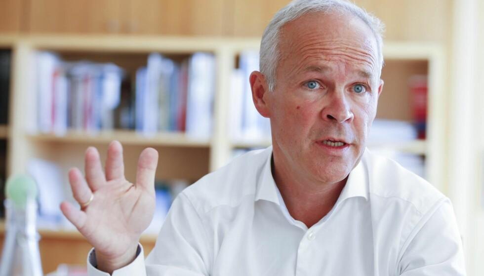 SKAPER UORDEN: Statsråd Jan Tore Sanner. Foto: NTB Scanpix